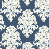 TA20102 montserrat damask wallpaper from the Tortuga collection by Seabrook Designs