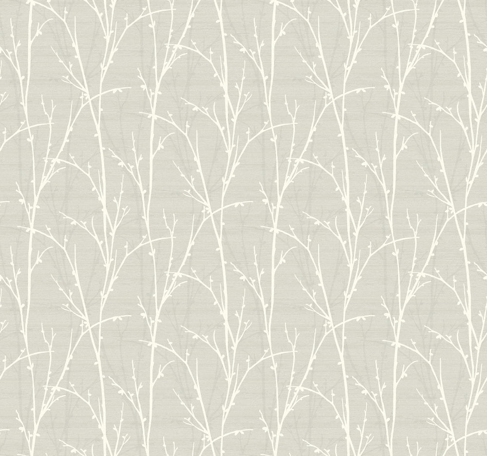SH71505 deer park twigs botanical wallpaper from the New Hampton collection by Seabrook Designs