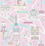 FA40601 bon voyage kids wallpaper from the Playdate Adventure by Seabrook Designs