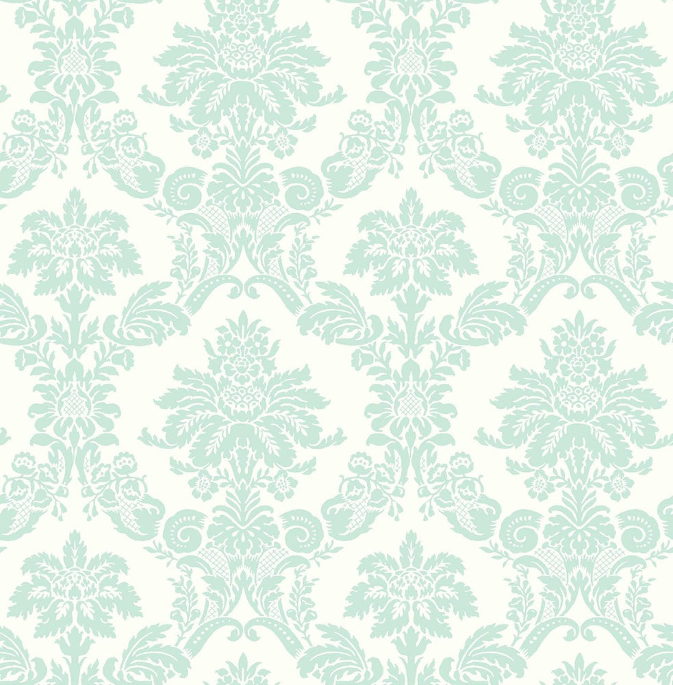 FA40904 glitter damask kids wallpaper from the Playdate Adventure collection by Seabrook Designs