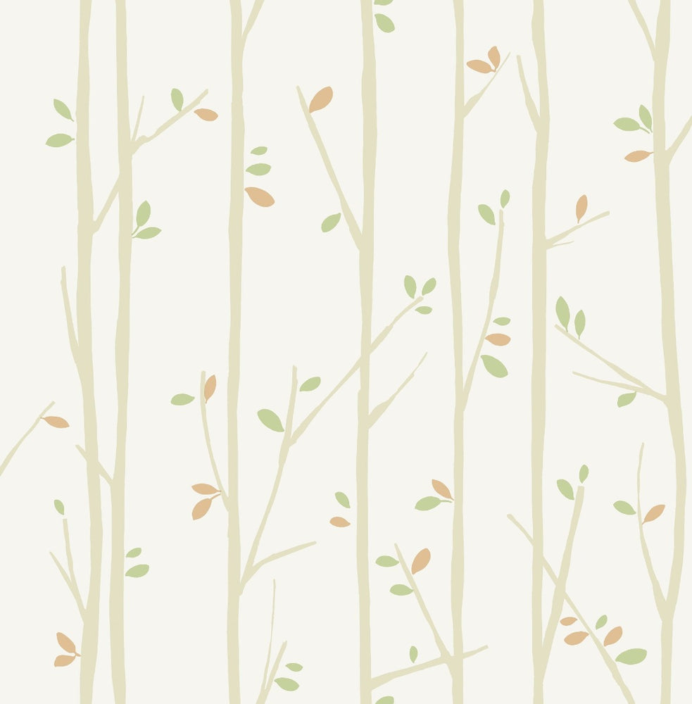 FA41207 tree top kids forest wallpaper from the Playdate Adventure collection by Seabrook Designs