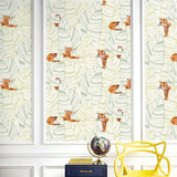 DA61204 hiding tigers animal wallpaper decor from the Day Dreamers collection by Seabrook Designs