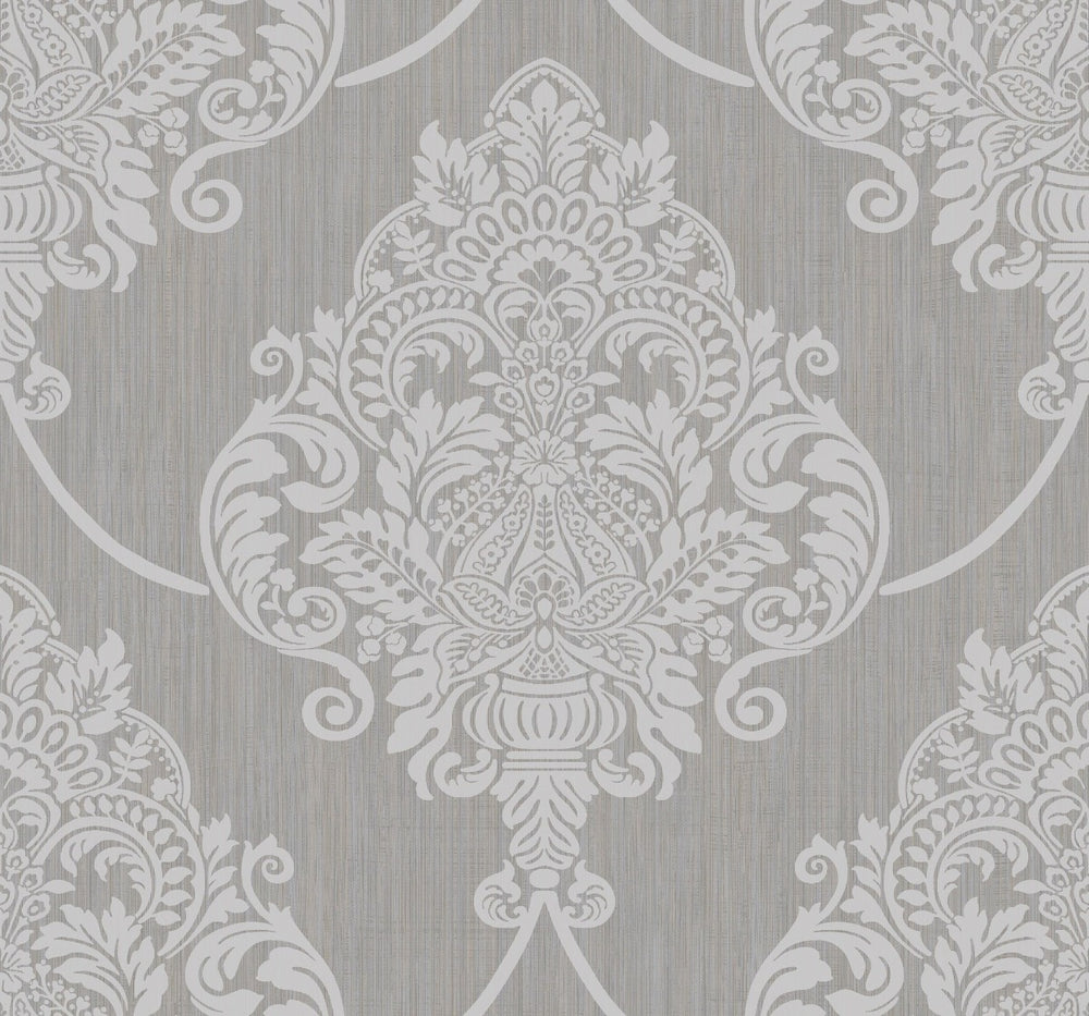 AW70808 puff damask wallpaper from the Casa Blanca 2 collection by Collins & Company