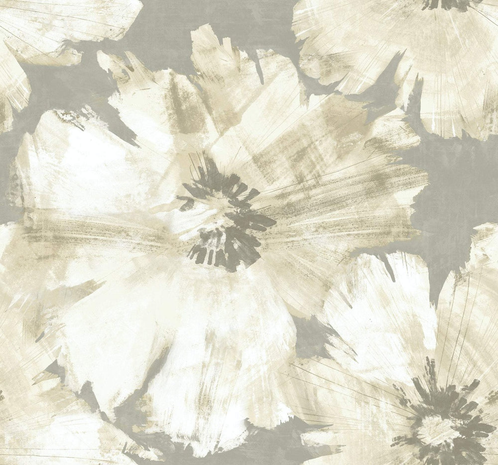 AV50008 Curie floral wallpaper from the Avant Garde collection by Seabrook Designs