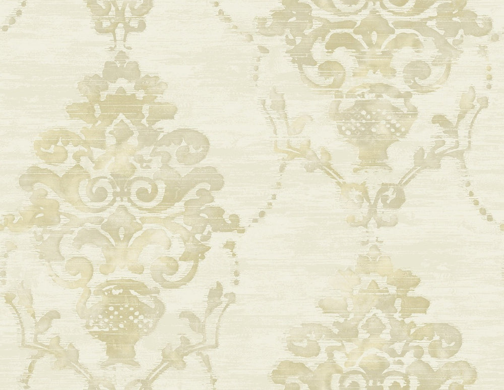 FI71014 damask wallpaper from the French Impressionist collection by Seabrook Designs