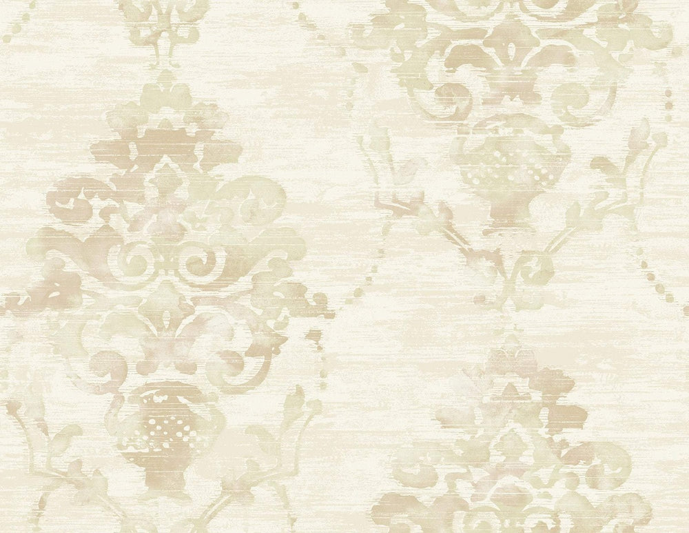 FI71004 damask wallpaper from the French Impressionist collection by Seabrook Designs