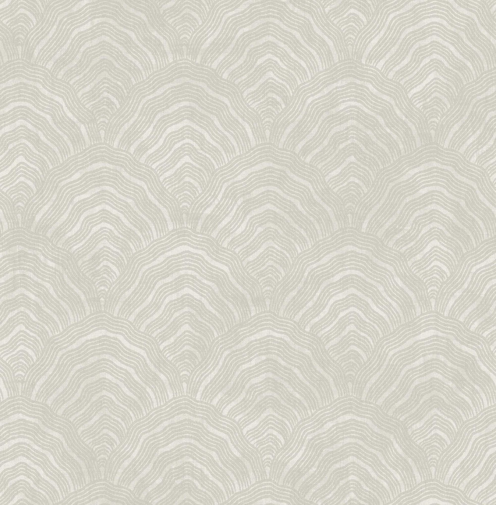 AI41505 confucius scallop wallpaper from the Koi collection by Seabrook Designs