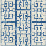 AI40202 Dynasty lattice geometric wallpaper from the Koi collection by Seabrook Designs