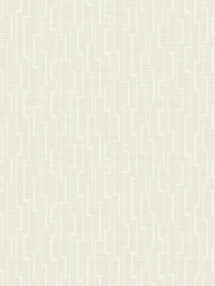 EC51602 maze striped wallpaper from the Eco Chic II collection by Seabrook Designs