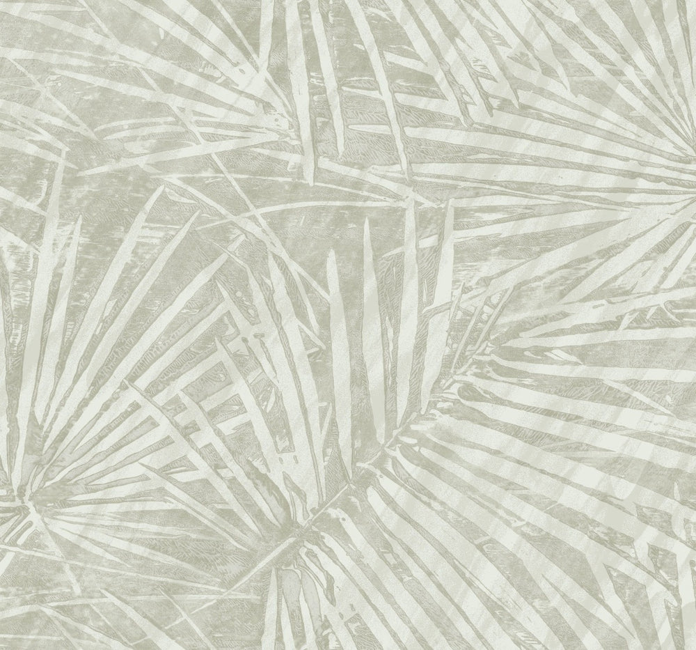 EC52000 fan leaf wallpaper from the Eco Chic II collection by Seabrook Designs