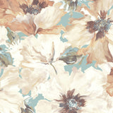 LG90002 Cecita floral wallpaper from the Lugano collection by Seabrook Designs