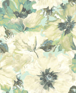 LG90004 Cecita floral wallpaper from the Lugano collection by Seabrook Designs