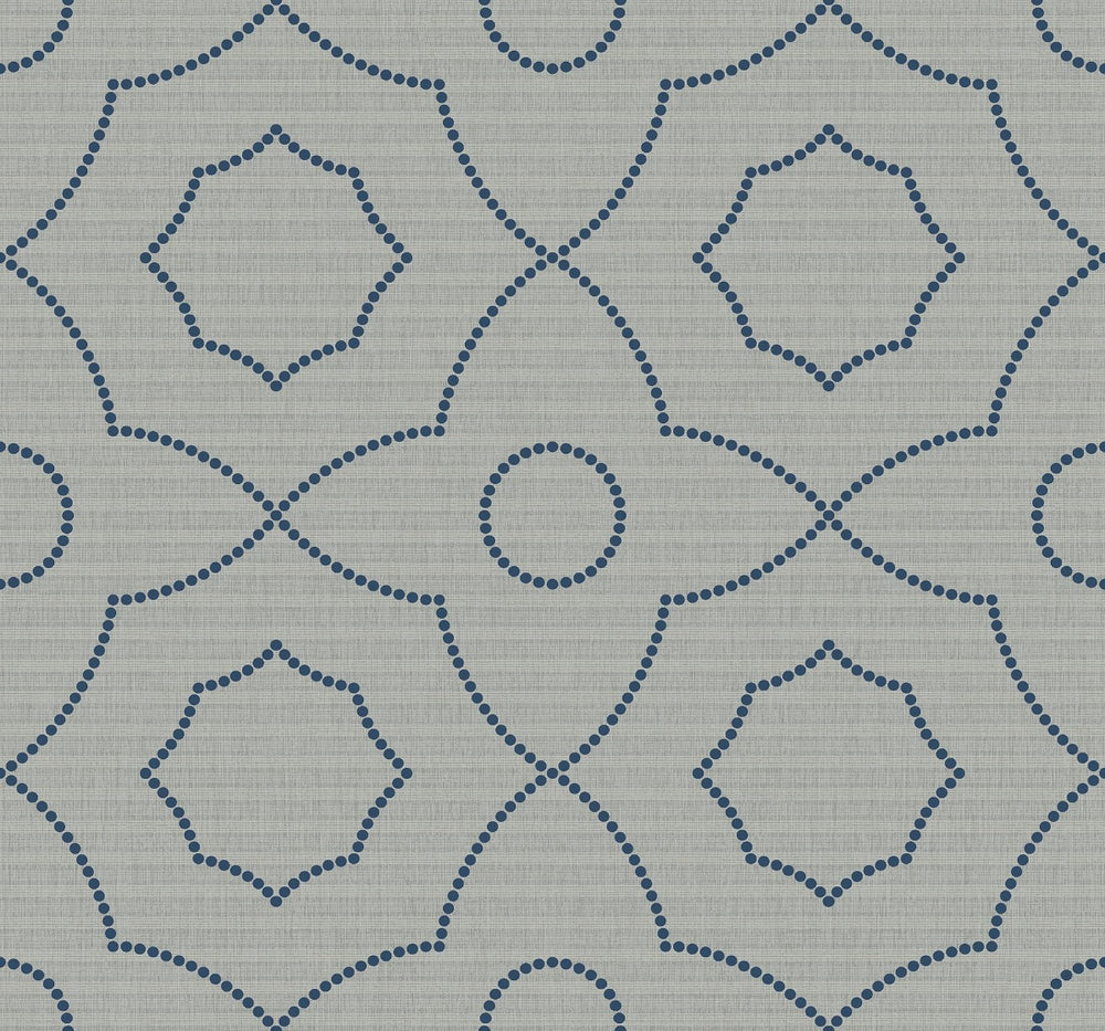 SH70102 Highland Mills geometric wallpaper from the New Hampton collection by Seabrook Designs