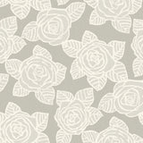SH70510 Bellvale roses floral wallpaper from the New Hampton collection by Seabrook Designs