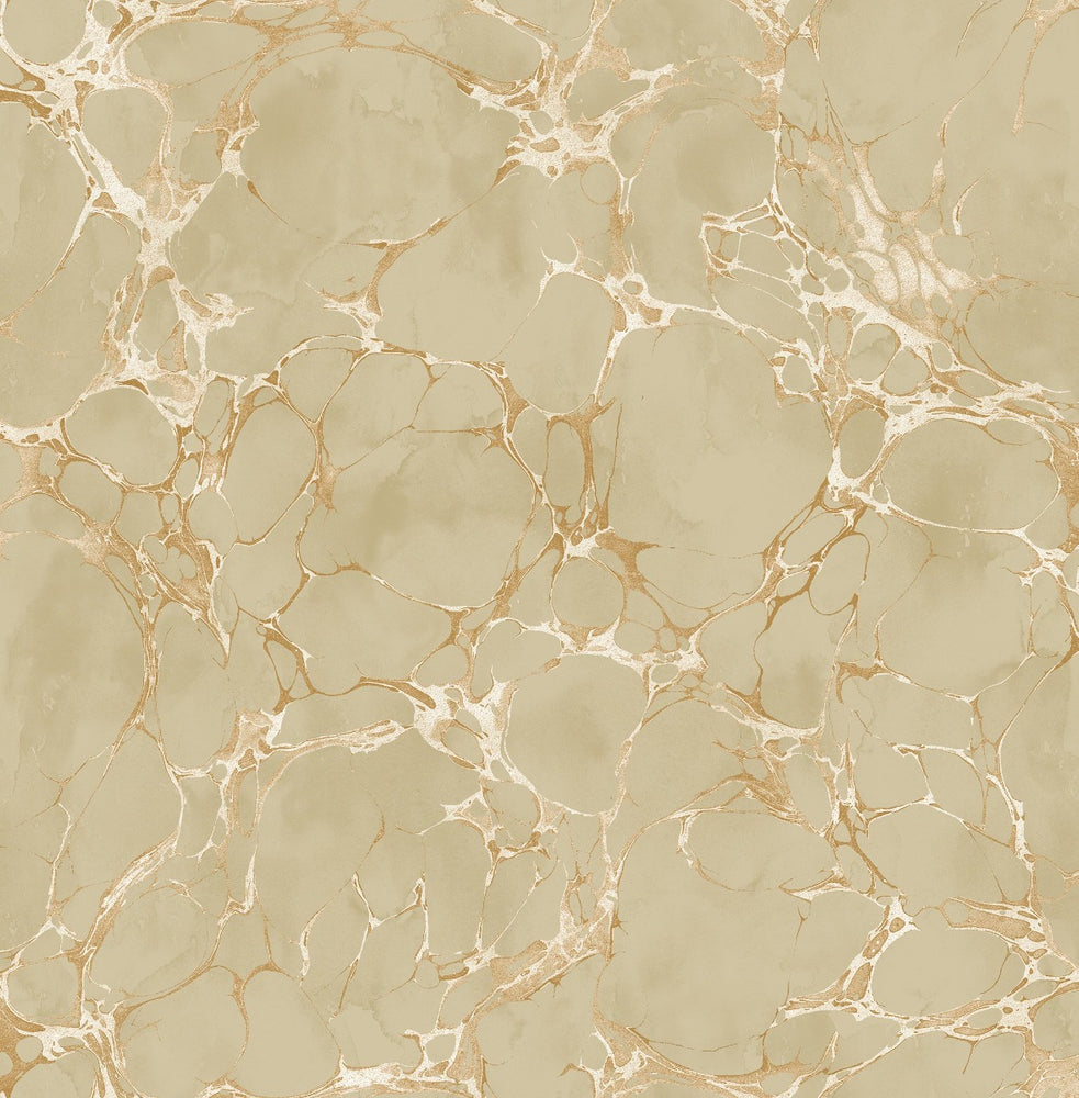 MK21107 patina marble crackle wallpaper from the Metallika collection by Seabrook Designs