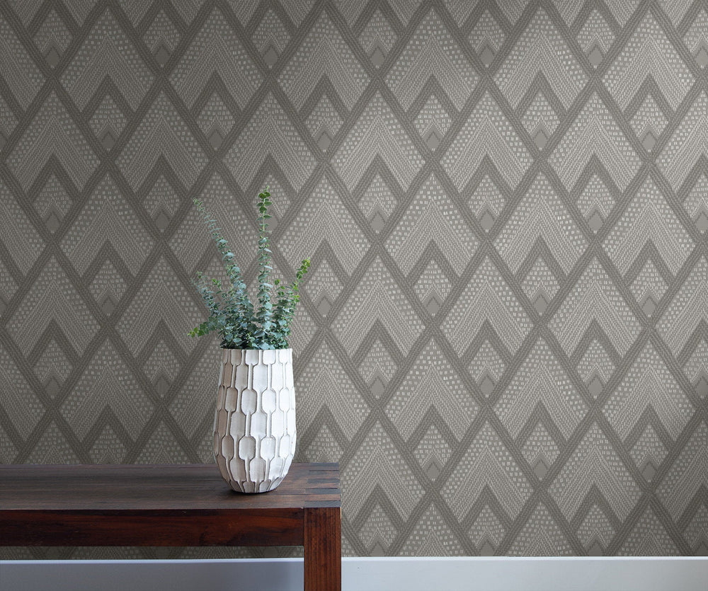 RY30508 boho diamonds wallpaper from the Boho Rhapsody collection by Seabrook Designs