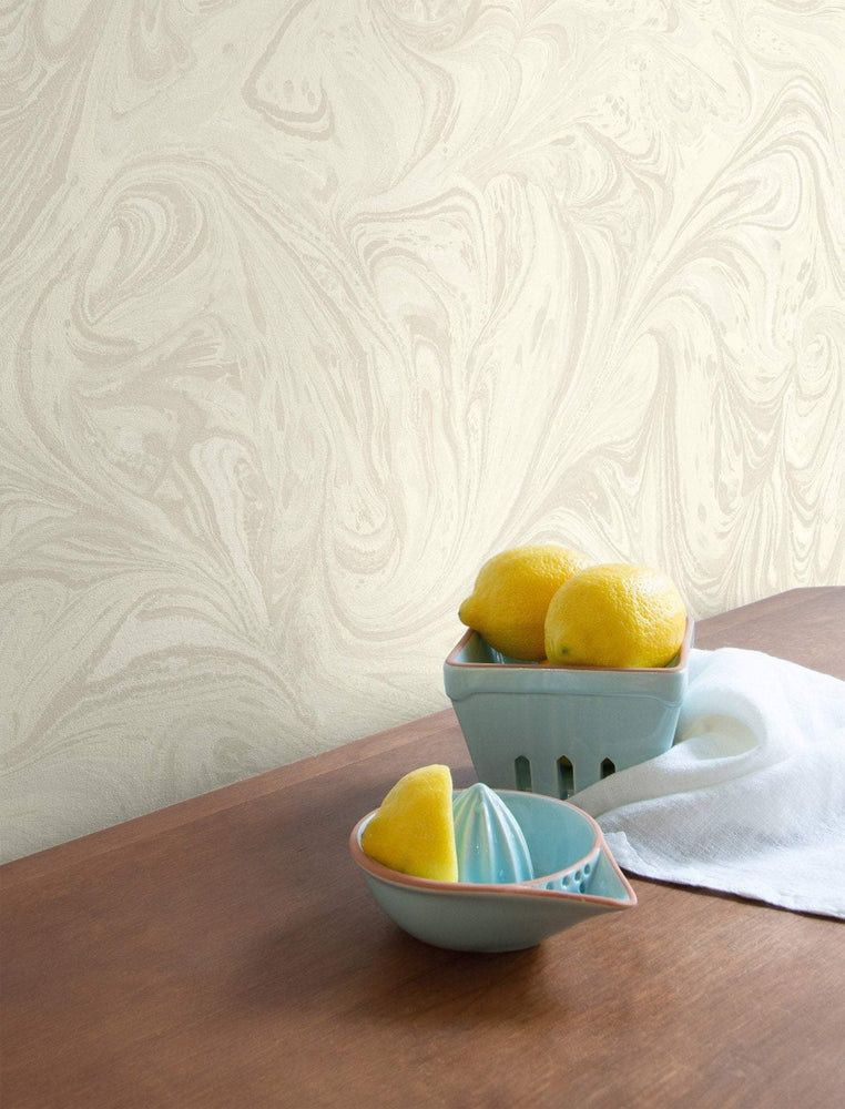 RY31103 sierra bohemian marble wallpaper from the Boho Rhapsody collection by Seabrook Designs
