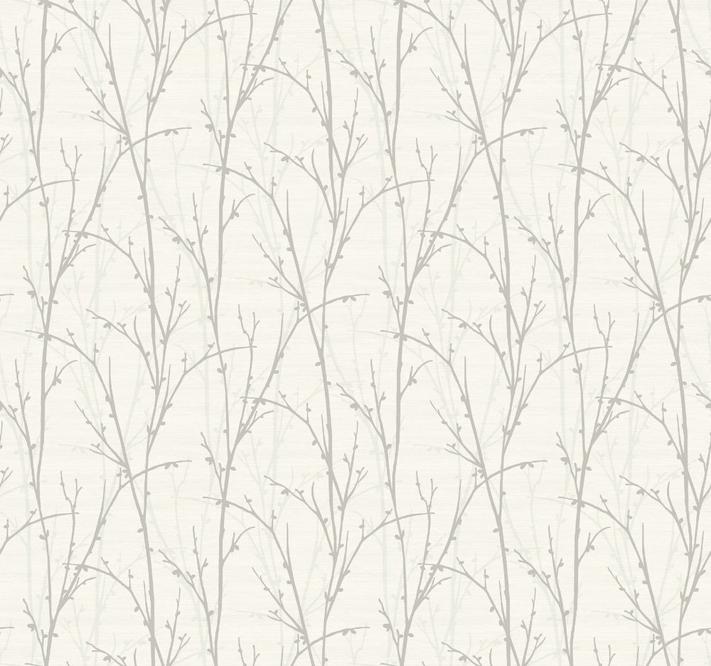 SH71508 deer park twigs botanical wallpaper from the New Hampton collection by Seabrook Designs