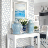 MB30112 entryway sun shapes geometric wallpaper from the Beach House collection by Seabrook Designs