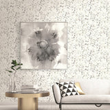 AH41700 paint splatter abstract wallpaper living room from the L'Atelier de Paris collection by Seabrook Designs