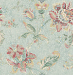 RN70904 jacobean floral wallpaper from Say Decor
