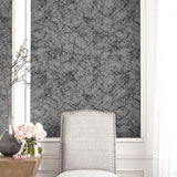 AW71421 paint splatter abstract wallpaper decor from the Casa Blanca 2 collection by Collins & Company