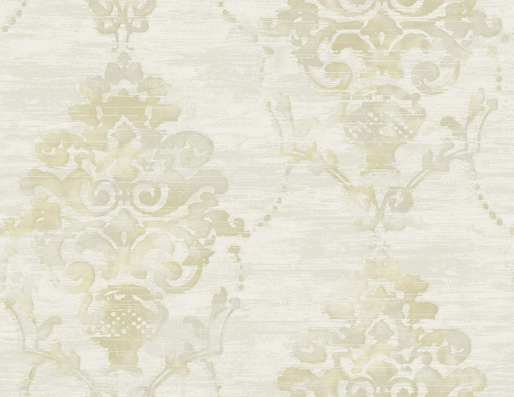 FI71007 damask wallpaper from the French Impressionist collection by Seabrook Designs