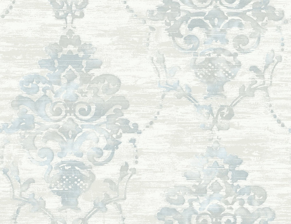 FI71008 damask wallpaper from the French Impressionist collection by Seabrook Designs