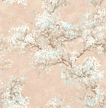 FI71101 cherry blossoms floral wallpaper from the French Impressionist collection by Seabrook Designs