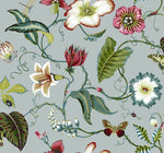 SD80004DS Malverna blooming floral trail wallpaper from Say Decor