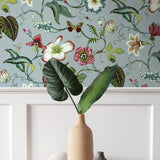SD80004DS Malverna blooming floral trail wallpaper decor from Say Decor