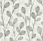 EC50210 leaf skeleton botanical wallpaper from the Eco Chic II collection by Seabrook Designs