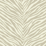 EC51208 zebra stripes animal print wallpaper from the Eco Chic 2 collection by Seabrook Designs