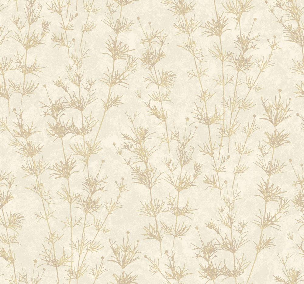 EC51301 wildflower botanical wallpaper from the Eco Chic II collection by Seabrook Designs