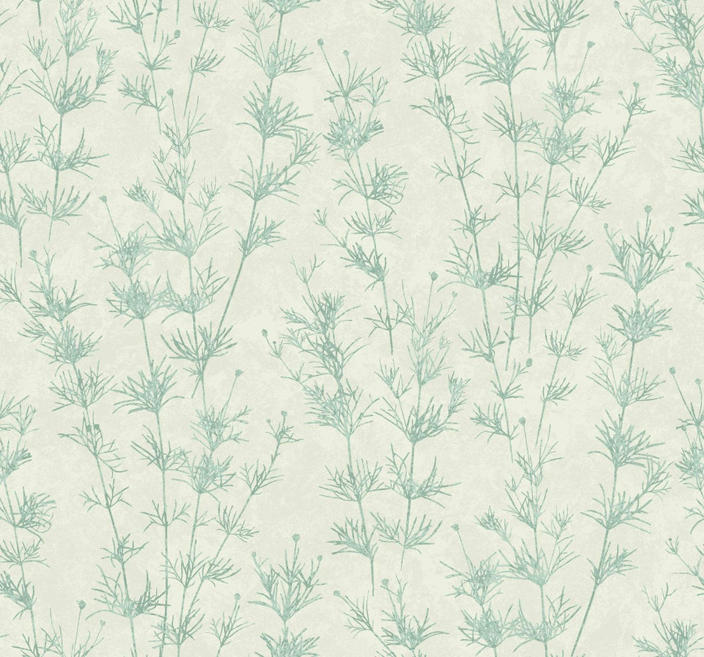EC51304 wildflower botanical wallpaper from the Eco Chic II collection by Seabrook Designs