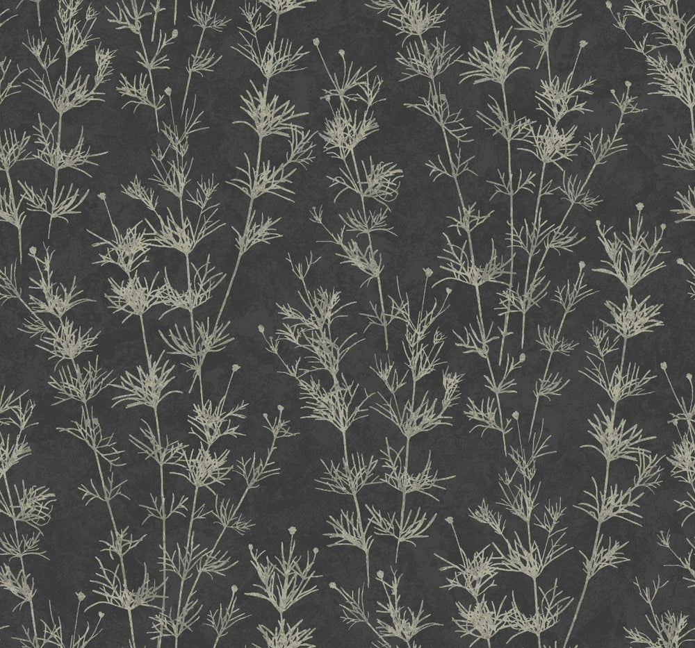 EC51300 wildflower botanical wallpaper from the Eco Chic II collection by Seabrook Designs