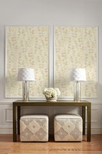 EC51301 wildflower botanical wallpaper decor from the Eco Chic II collection by Seabrook Designs