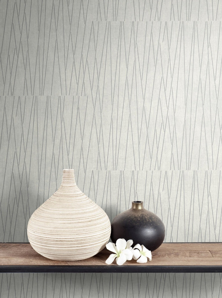 RL60118 Gidget lines wallpaper decor from the Retro Living collection by Seabrook Designs