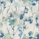 LG91402 Faravel watercolor floral wallpaper from the Lugano collection by Seabrook Designs