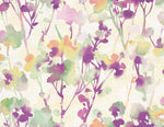 LG91409 Faravel watercolor floral wallpaper from the Lugano collection by Seabrook Designs