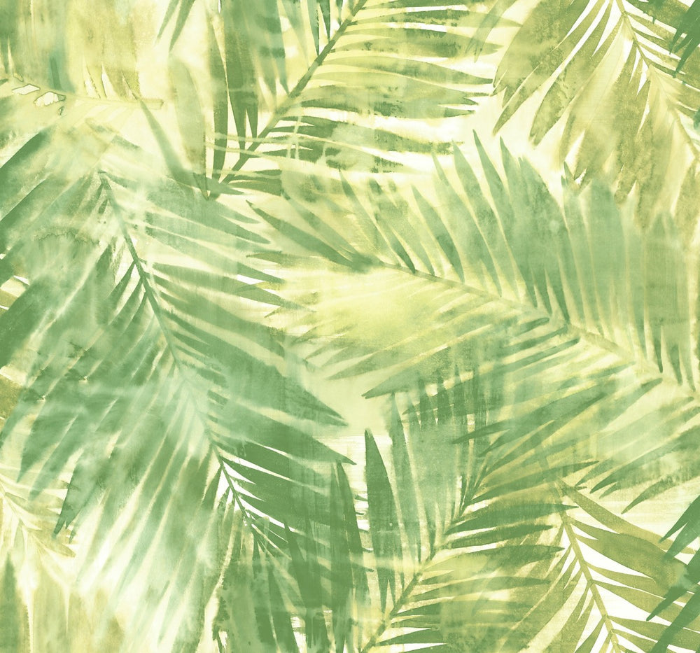 LG90904 Kentmere palm leaf botanical wallpaper from the Lugano collection by Seabrook Designs