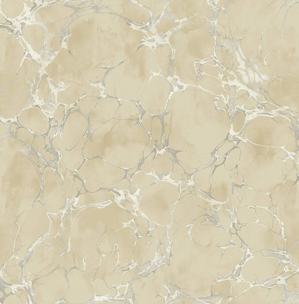 MK21108 patina marble crackle wallpaper from the Metallika collection by Seabrook Designs