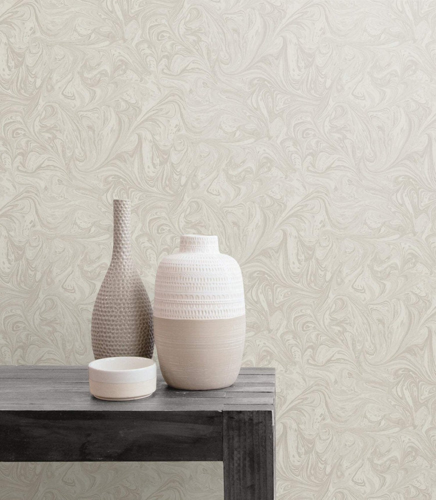 RY31108 sierra bohemian marble wallpaper from the Boho Rhapsody collection by Seabrook Designs