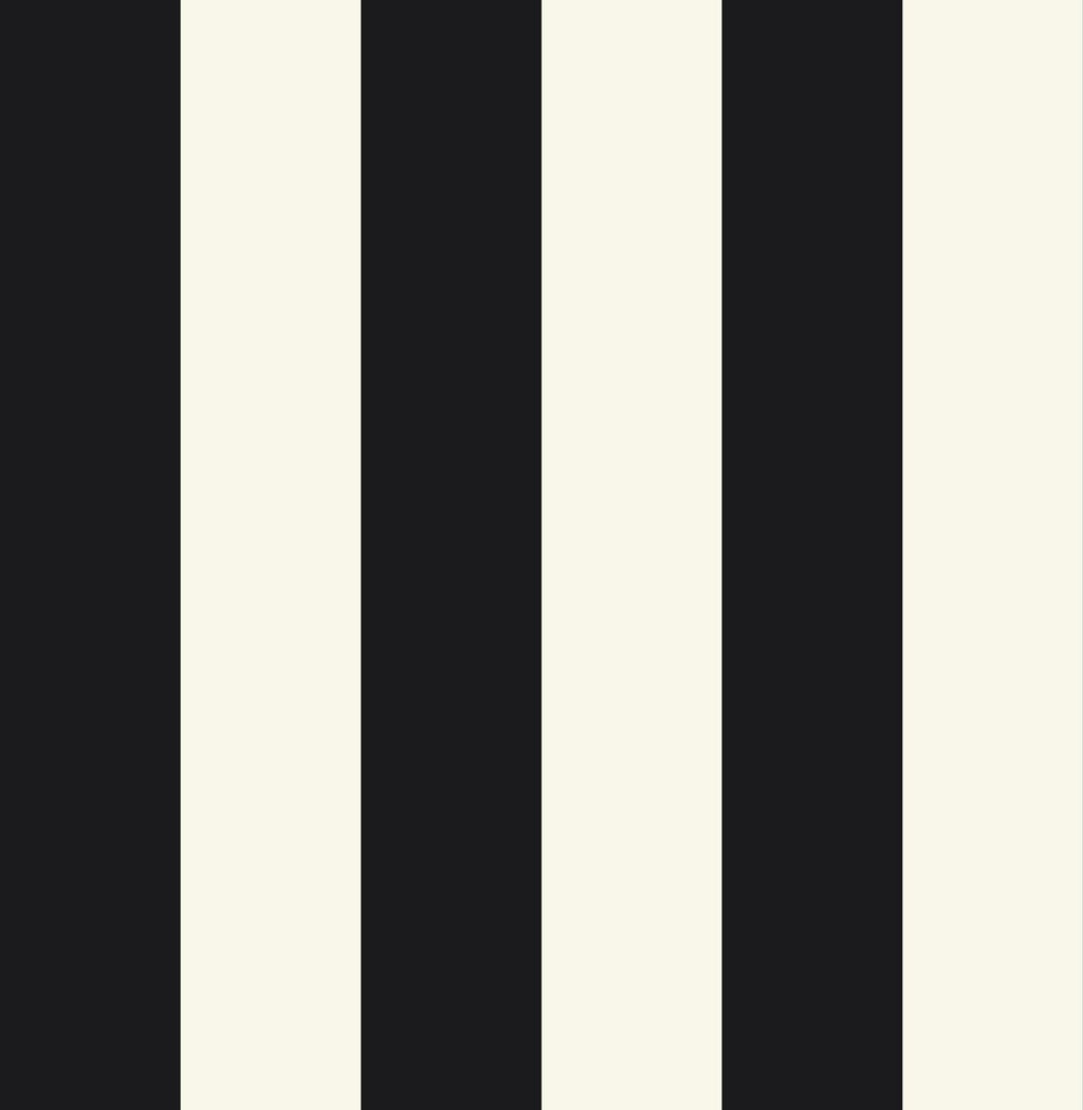 Gibson Black and White Striped Wallpaper