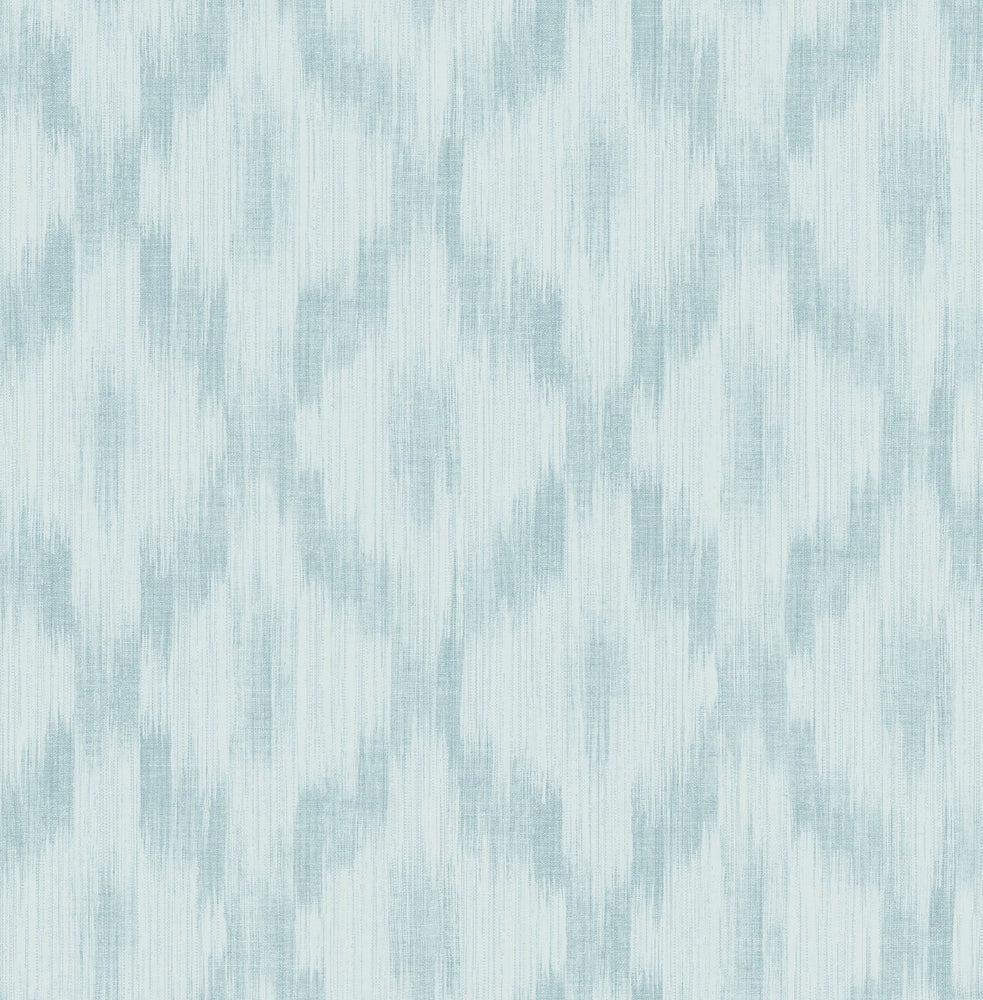 MT80102 Pomerelle ikat wallpaper from the Montage collection by Seabrook Designs