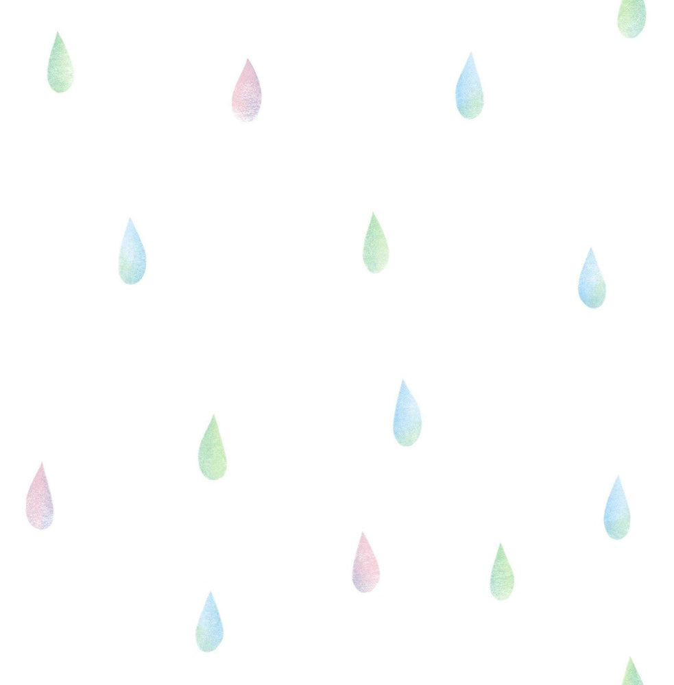 DA60002 raindrops wallpaper from the Day Dreamers collection by Seabrook Designs