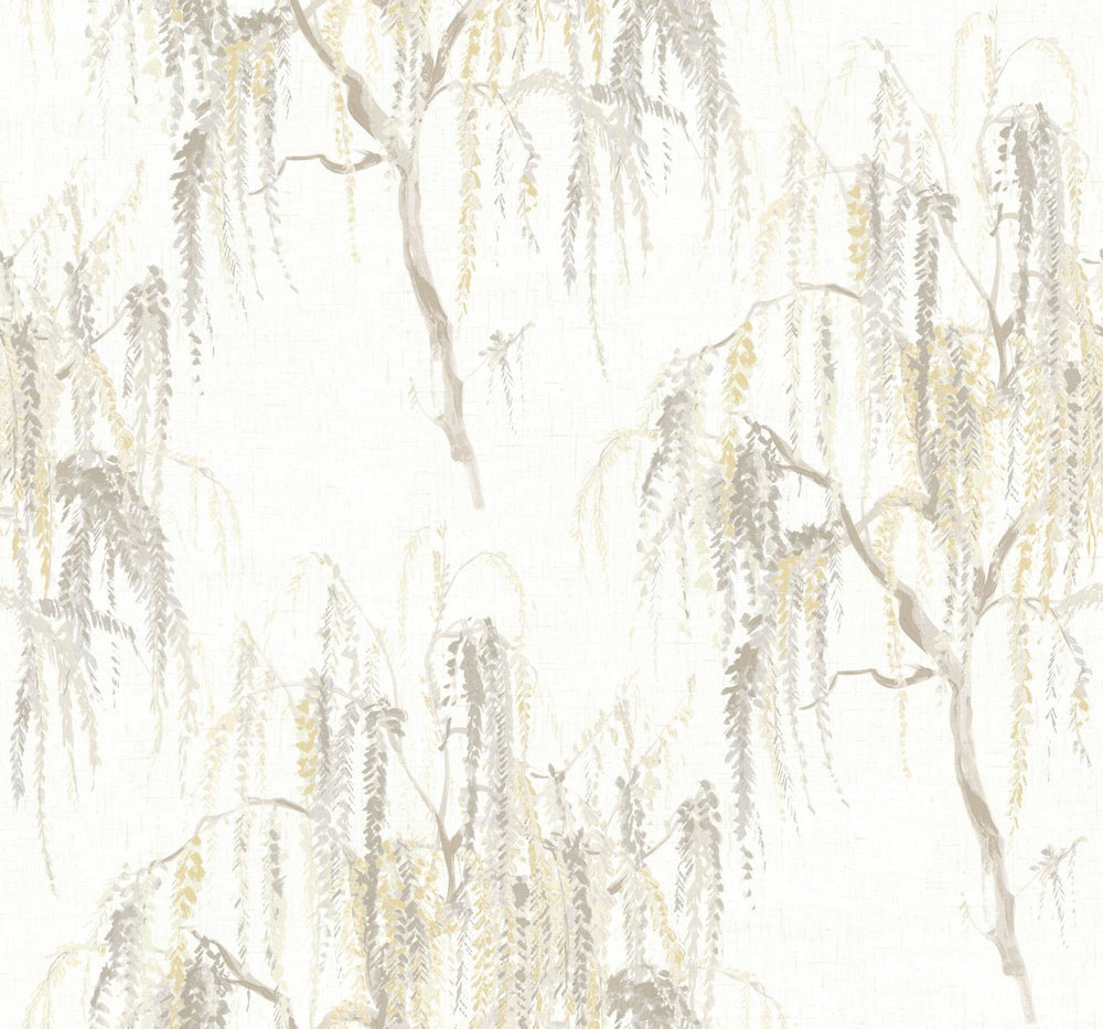 CR20305 Jade willow tree wallpaper from the Island collection by Carl Robinson