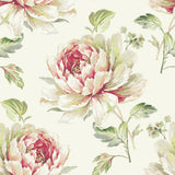 CR21314 Jarrow peony floral wallpaper from the Island collection by Carl Robinson