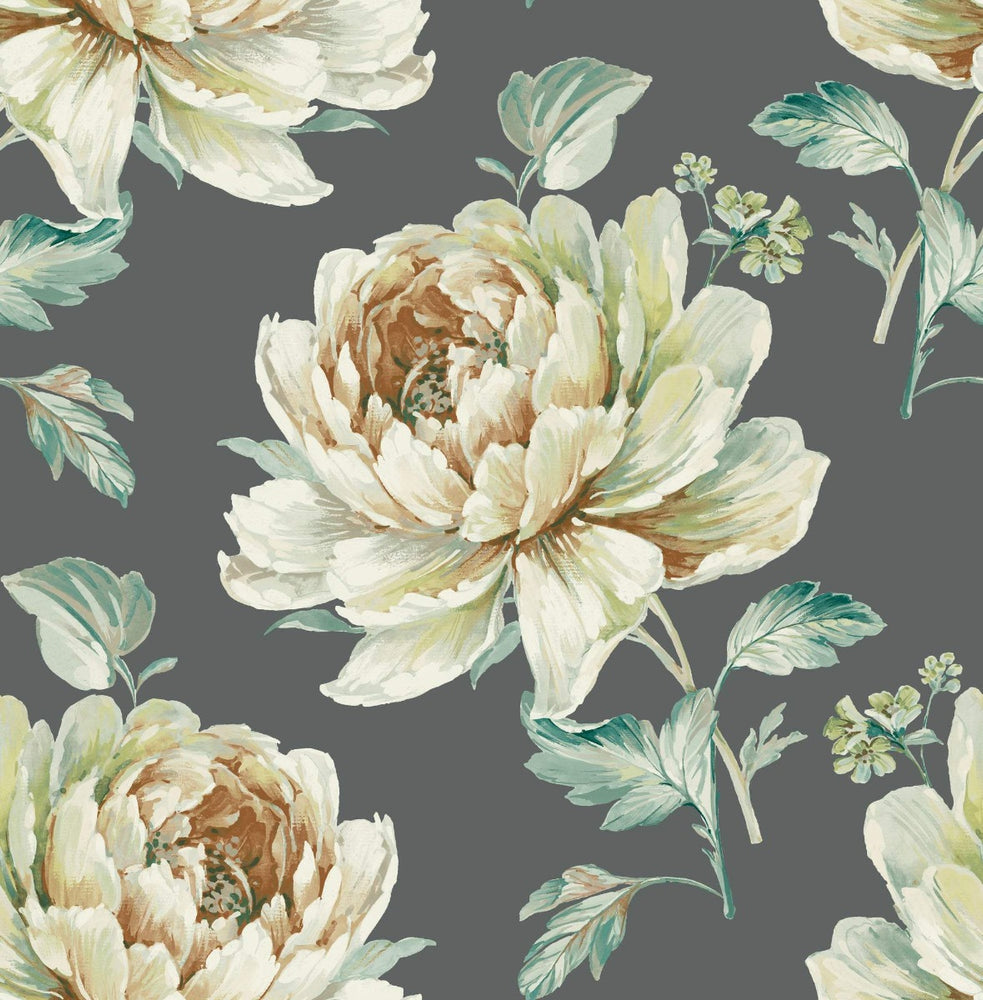 Carl Robinson Edition 10: Island Jarrow Peony Floral Wallpaper