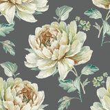 CR21300 Jarrow peony floral wallpaper from the Island collection by Carl Robinson
